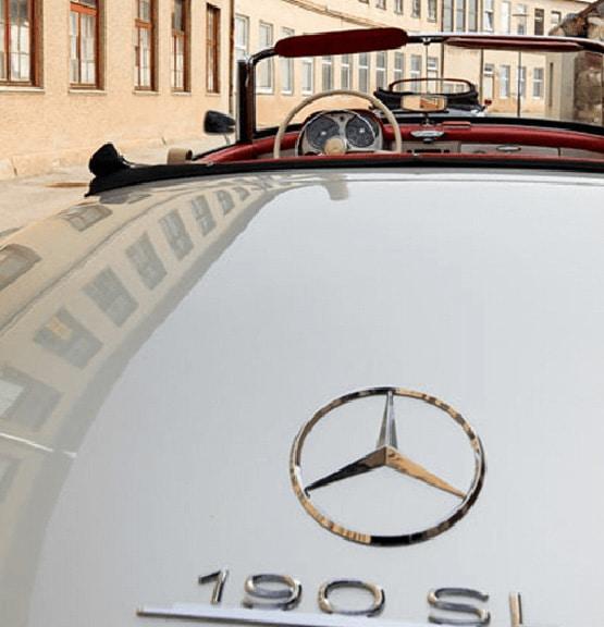 Hertz Classics ;ercedes 190SL