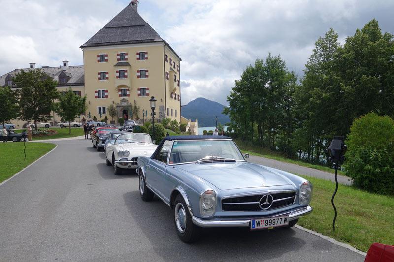 Hertz-Classics Oldtimertour Salzkammergut